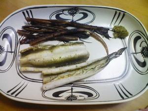 アナゴの白焼き
